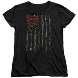 Seether Bone Flag S/S Women's T-Shirt Black