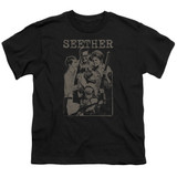 Seether Happy Family S/S Youth 18/1 T-Shirt Black