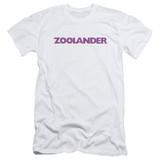 Zoolander Logo S/S Adult 30/1 T-Shirt White