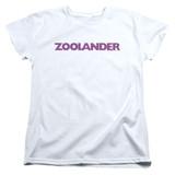 Zoolander Logo S/S Women's T-Shirt White