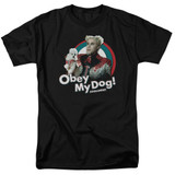 Zoolander Obey My Dog S/S Adult 18/1 T-Shirt Black