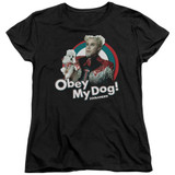Zoolander Obey My Dog S/S Women's T-Shirt Black