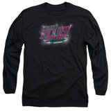 Zoolander Ridiculously Good Looking Long Sleeve Adult 18/1 T-Shirt Black