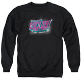 Zoolander Ridiculously Good Looking Adult Crewneck Sweatshirt Black