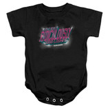 Zoolander Ridiculously Good Looking Infant Baby Snapsuit Romper Black