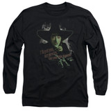 Wizard of Oz And Your Little Dog Too Long Sleeve Adult 18/1 T-Shirt Black