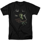 Wizard of Oz And Your Little Dog Too S/S Adult 18/1 T-Shirt Black