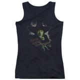 Wizard of Oz And Your Little Dog Too Junior Women's Tank Top Black