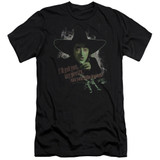 Wizard of Oz And Your Little Dog Too Premium S/S Adult 30/1 T-Shirt Black