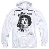 Wizard of Oz Brainless Adult Pullover Hoodie Sweatshirt White