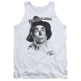 Wizard of Oz Brainless Adult Tank Top White