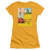 Wizard of Oz The Way Home S/S Junior Women's T-Shirt Sheer Gold
