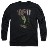 Wizard of Oz I Like Your Shoes Long Sleeve Adult 18/1 T-Shirt Black