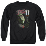 Wizard of Oz I Like Your Shoes Adult Crewneck Sweatshirt Black