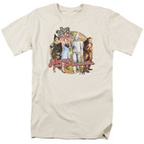 Wizard of Oz Directions S/S Adult 18/1 T-Shirt Cream