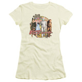 Wizard of Oz Directions S/S Junior Women's T-Shirt Sheer Cream