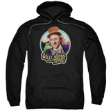 Willy Wonka and the Chocolate Factory It's Scrumdiddlyumptious Adult Pullover Hoodie Sweatshirt Black