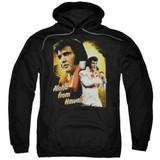 Elvis Presley Aloha Adult Pullover Hoodie Sweatshirt Black
