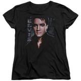 Elvis Presley Tough Women's T-Shirt Black