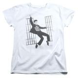 Elvis Presley Jailhouse Rock Women's T-Shirt White