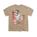 Elvis Presley Freedom Youth T-Shirt Sand