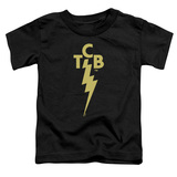 Elvis Presley TCB Logo Toddler T-Shirt Black