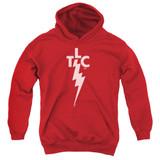 Elvis Presley TLC Logo Youth Pullover Hoodie Sweatshirt Red