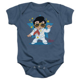 Elvis Presley Jumpsuit Baby Onesie T-Shirt Indigo