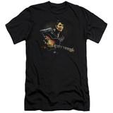 Elvis Presley 1968 Adult 30/1 T-Shirt Black