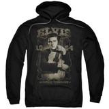 Elvis Presley 1954 Adult Pullover Hoodie Sweatshirt Black