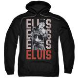 Elvis Presley 1968 Classic Adult Pullover Hoodie Sweatshirt Black
