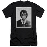 Elvis Presley Framed Classic Adult 30/1 T-Shirt Black