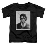 Elvis Presley Framed Classic Toddler T-Shirt Black