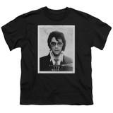 Elvis Presley Framed Classic Youth T-Shirt Black