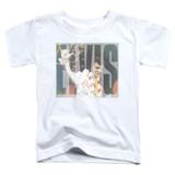 Elvis Presley Aloha Knockout Classic Toddler T-Shirt White