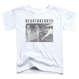 Elvis Presley Heartbreaker Classic Toddler T-Shirt White