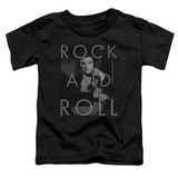 Elvis Presley Rock And Roll Classic Toddler T-Shirt Black