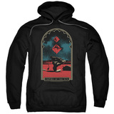 Empire of the Sun Balance Adult Pullover Hoodie Sweatshirt Black
