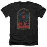 Empire of the Sun Balance Adult Heather T-Shirt Black