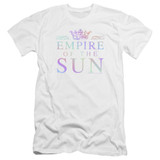Empire of the Sun Rainbow Logo Premium Adult 30/1 T-Shirt White