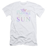 Empire of the Sun Rainbow Logo Adult 30/1 T-Shirt White