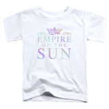 Empire of the Sun Rainbow Logo Toddler T-Shirt White