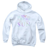 Empire of the Sun Rainbow Logo Youth Pullover Hoodie Sweatshirt White