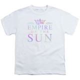 Empire of the Sun Rainbow Logo Youth T-Shirt White
