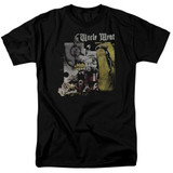 Frank Zappa Uncle Meat Adult 18/1 T-Shirt Black