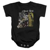Frank Zappa Uncle Meat Baby Onesie T-Shirt Black