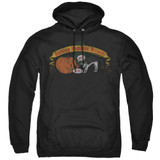 Frank Zappa Barking Pumpkin Adult Pullover Hoodie Sweatshirt Black