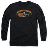 Frank Zappa Barking Pumpkin Adult Long Sleeve T-Shirt Black