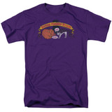 Frank Zappa Barking Pumpkin Adult 18/1 T-Shirt Purple