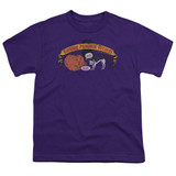 Frank Zappa Barking Pumpkin Youth T-Shirt Purple